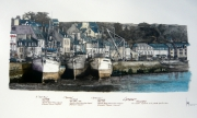 dessin marine finistere camaret bateaux peche : Port de Camaret . 29