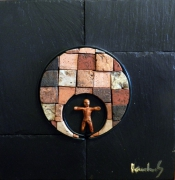 sculpture abstrait tunnel couloir solitude psychanalyse : Au bout du bout