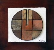 sculpture abstrait globe cercle infini art contemporain : Matris I