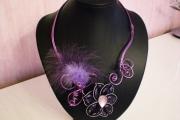 bijoux autres capsule cafe violet : Bijoux recycl'art