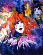 tableau personnages masque venise venezia carnaval : Masque à Venise