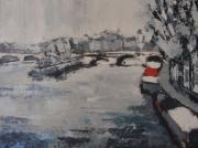 tableau paysages paris pont neuf : Le Pont Neuf