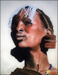 femme maasai tanzanie