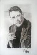 dessin personnages brel portrait : Jacques Brel
