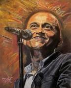 dessin personnages salsa chanteur portrait : Yuri Buenaventura (salsa)