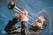 dessin personnages trompetiste ibrahim maalouf : Ibrahim Maalouf