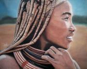 dessin personnages femme afrique : Femme Afrique 2
