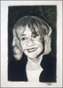 dessin personnages jeanne moreau sourire : Jeanne Moreau 2