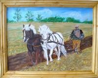 Le laboureur et ses chevaux