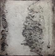 tableau abstrait abstrait acrylique atmosphere texture : Les Bords Secrets
