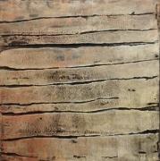 tableau abstrait acrylique atmosphere mirage : Les Bords Secrest