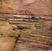 tableau abstrait abstrait acrylique texture : Terra Incognita