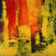 tableau abstrait abstrait acrylique atmosphere vibration : Atmosphère
