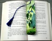 artisanat dart paysages marque page arbre prairie original : Marque page L'arbre