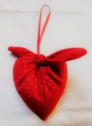 art textile mode autres coeur amour noel decoration : Déco de Noël