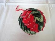 art textile mode autres boule de noel patch noel decoration : Déco de Noël