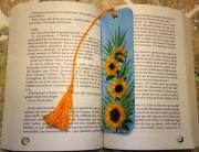 autres fleurs tournesols marquepage original fleur : Marque page les tournesols