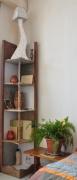 artisanat dart etagere carton meuble : meuble de coin