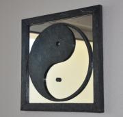 autres autres miroir nouveaute : yin yang noir