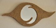 artisanat dart nouveaute miroir sable : L'oeil de mer