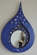 artisanat dart autres nouveaute miroir carton : goutte d'eau
