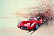 tableau sport voiture sport italie ferrari : FERRARI