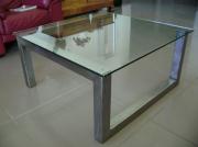 deco design table basse design metal : Table basse