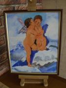 tableau : baiser d'anges