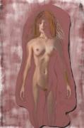 """art numerique nus nue femme cremation : """" Crémation """""""