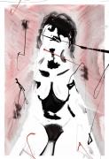 """art numerique nus femme nue marine : """" La marina """""""