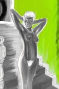 """art numerique nus nu escalier femme : """" L'escalier enchanté """""""