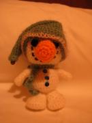 artisanat dart personnages : bonhomme de neige