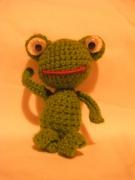 artisanat dart animaux : grenouille