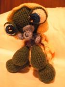artisanat dart animaux : baby turtle