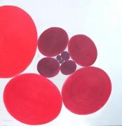 tableau abstrait ovoides premiers moderne conceptuel : Ovoides