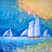 dessin marine voiliers lumiere vie mer : Voiliers de la vie