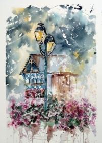 141 Les lampadaires de Pontrieux