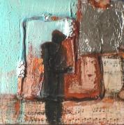 tableau personnages silhouette solitude : Sans les Anges