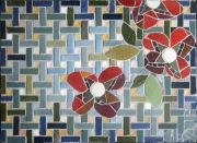 artisanat dart fleurs : table