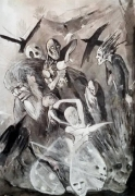 tableau : le cauchemar de la paix / the nightmare of peace