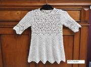 art textile mode autres bapteme robe blanche : Robe