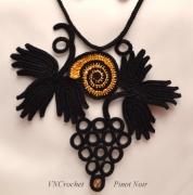 """bijoux autres collier cadeau stvalentin dentelle : Collier """"Pinot Noir"""""""
