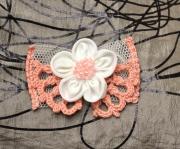 """art textile mode dentelle decoration cheveux cadeaux : Épingle à cheveux """"Dora"""""""