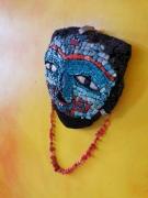 sculpture autres azteque teotihuacan máscara malinaltepec : Masques Aztèque Malinaltepec