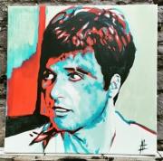 tableau personnages al pacino scarface tony montana brian de palma : Al Pacino