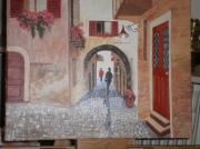 tableau autres travail loisirs plaisir besoin : Vieille rue Italienne