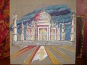 tableau : Taj Mahal