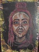 tableau : Jeune femme himba