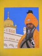 tableau : Le Sikh