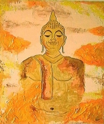 tableau : Le Bouddha d'Or